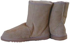 short zig zag boots
